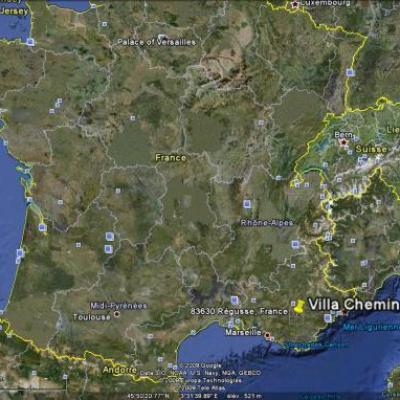 Vues Google Earth