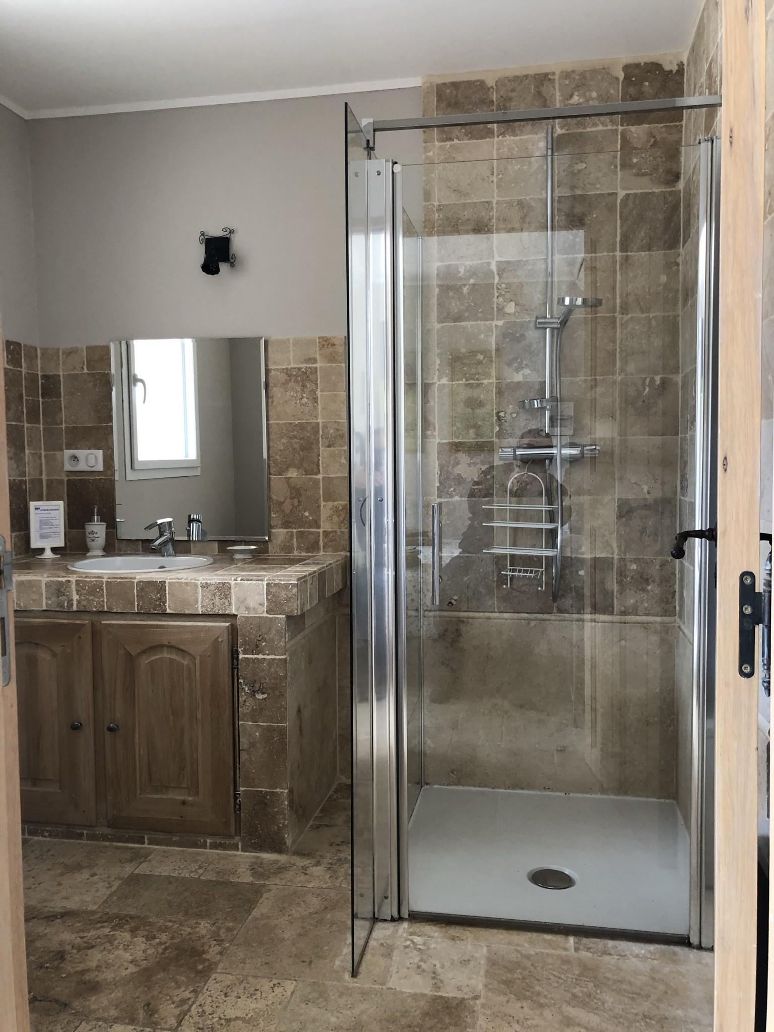 Salle de douche suite Lavande
